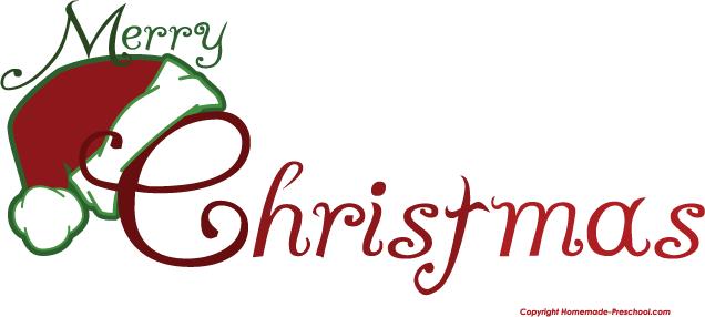 Merry Christmas Clip Art - Merry Christmas Clipart