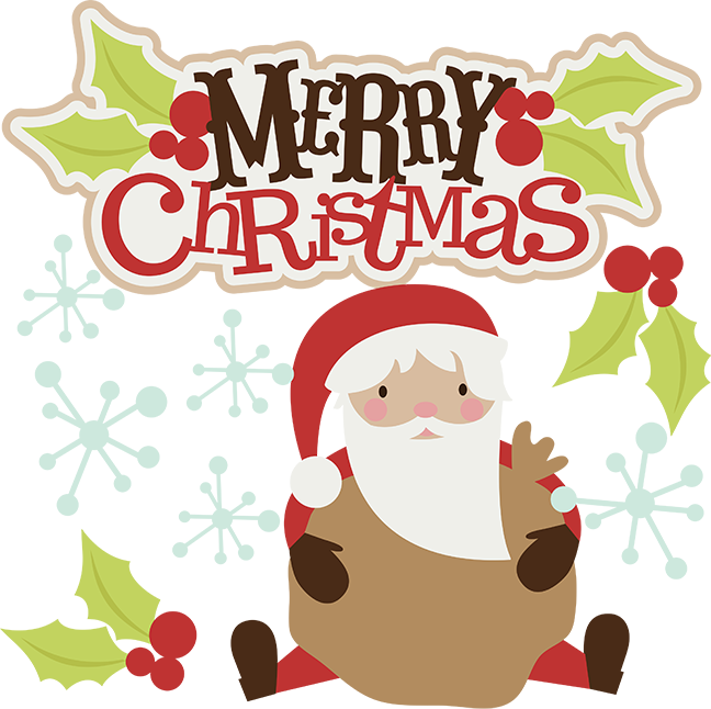 Merry Christmas SVG christmas clipart santa svg santa clipart cute clip art santa scrapbook svg | Navidad | Pinterest | Posts, Merry christmas and Pictures ...