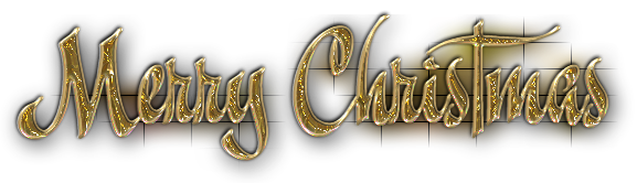 Merry Christmas Text PNG Clipart