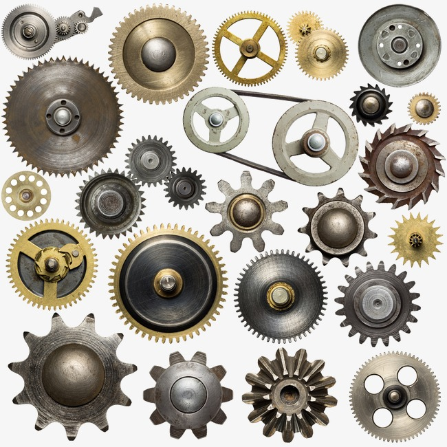 mechanical metal gear parts collection, Metal, Mechanical Gear, Mechanical  PNG Image and Clipart
