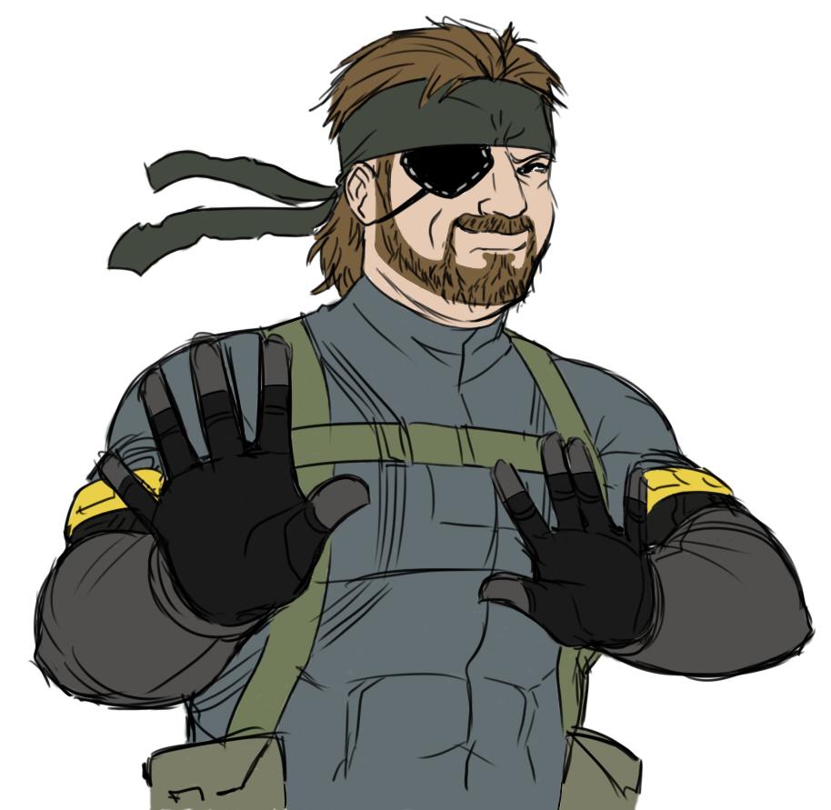 Metal Gear Solid 3: Snake Eater fictional character cartoon headgear