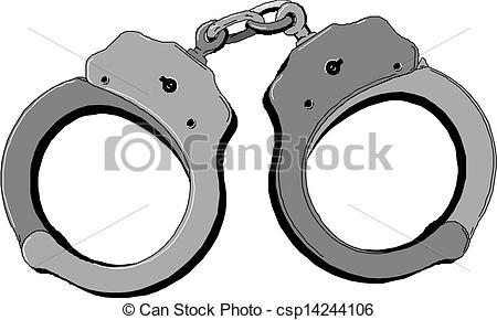 Metal handcuffs Clip Artby piai8/1,307; Handcuffs