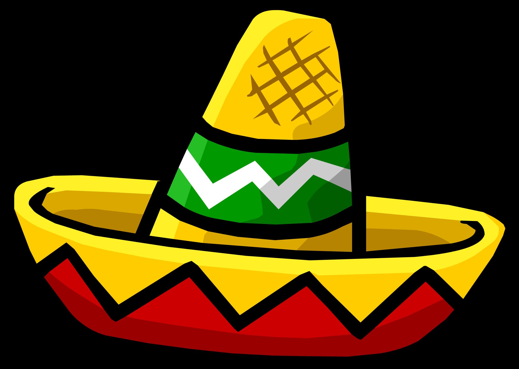 Mexican Sombrero Transparent Clipart