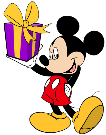 Mickey Mouse Birthday Clip Art