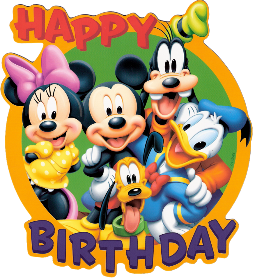 Mickey Mouse Birthday Clip Art Mickey Mouse Birthday Disney Birthday Clipart  Wikiclipart Free Clipart