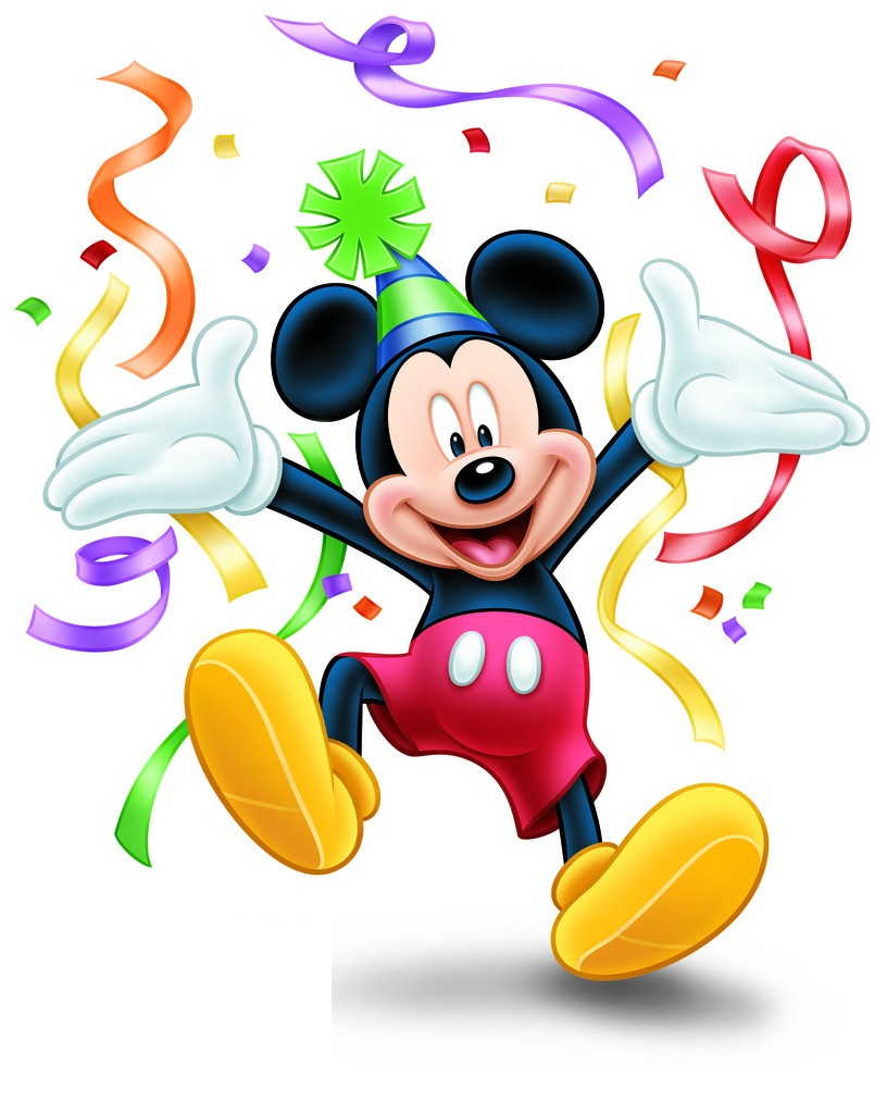 Mickey Mouse Birthday Clipart #18446