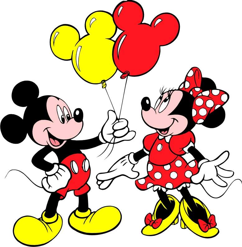 Mickey Mouse Birthday Clipart #18452