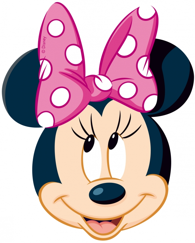 Minnie-mouse-birthday-clipart - Mickey Mouse Birthday Clipart