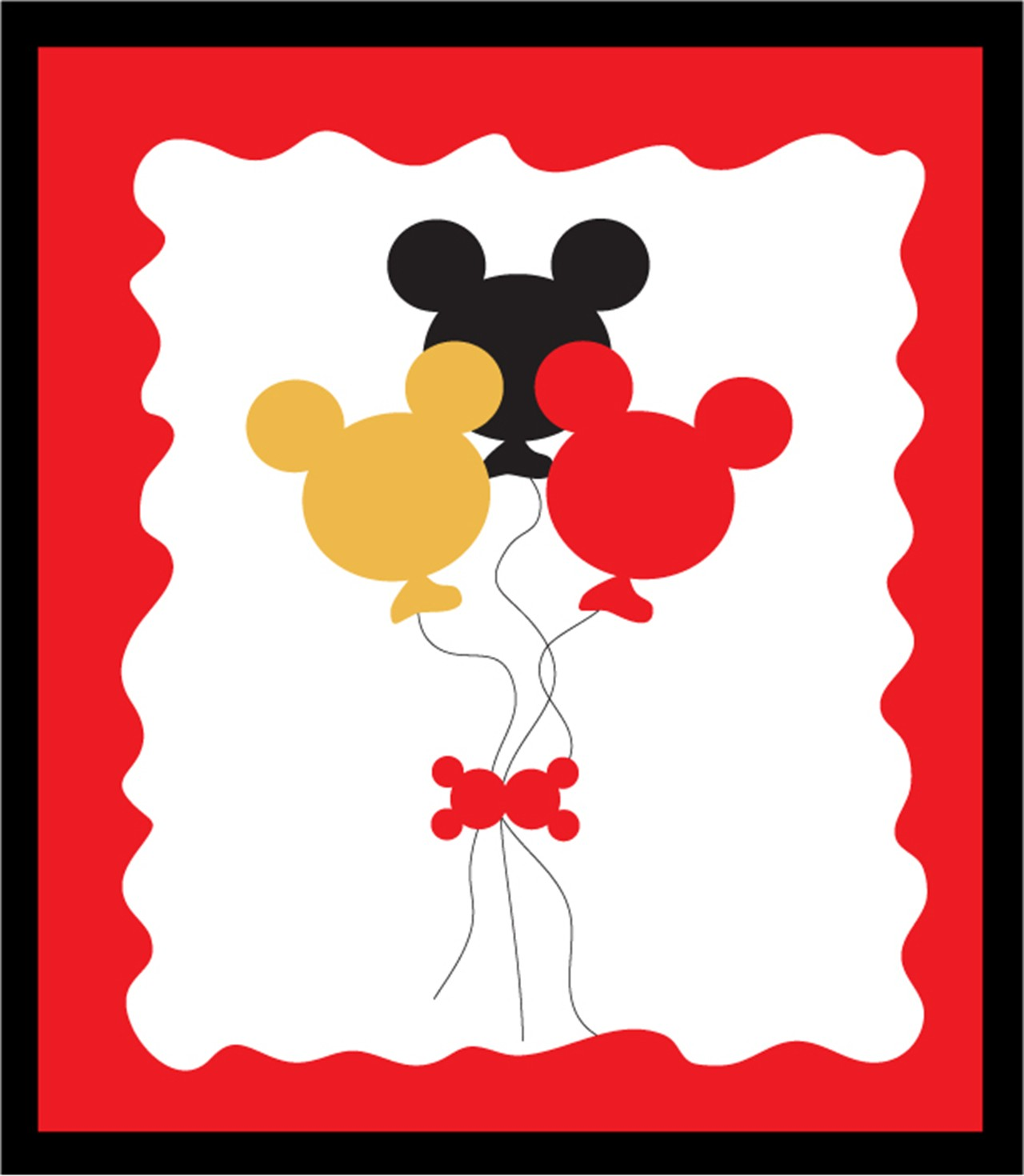 Mickey mouse birthday girl .