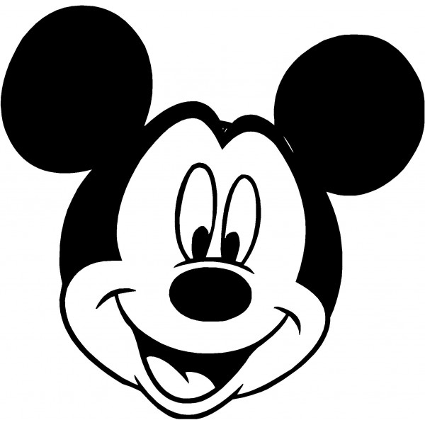 Mickey Mouse Clip Art Silhouette Clipart Panda Free Clipart Images