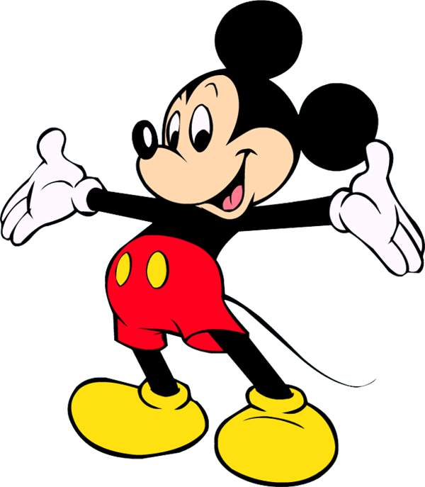 Mickey mouse clipart 2