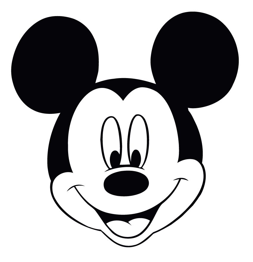 How to Make Pictures out of T - Mickey Mouse Clipart