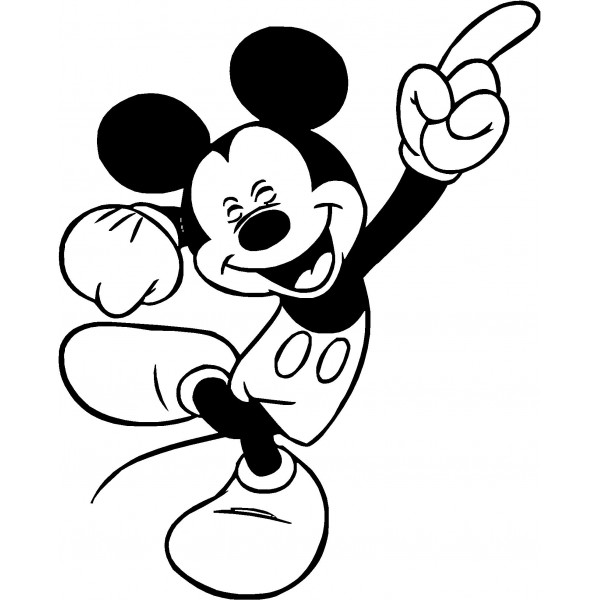 Mickey mouse black and white mickey minnie clipart