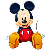 Mickey Mouse Clipart PNG Image