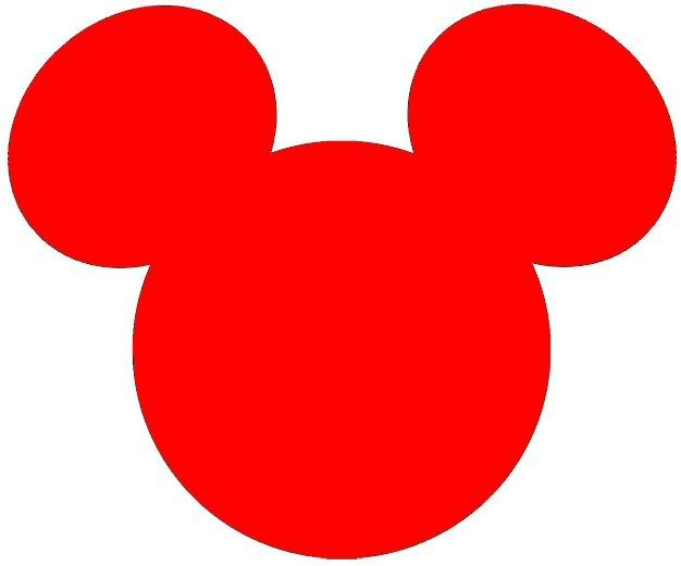 Mickey Mouse Head Clipart   Clipart Panda - Free Clipart Images