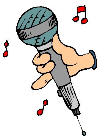 Microphone clip art 7