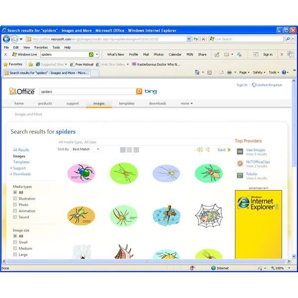 Microsoft clipart online