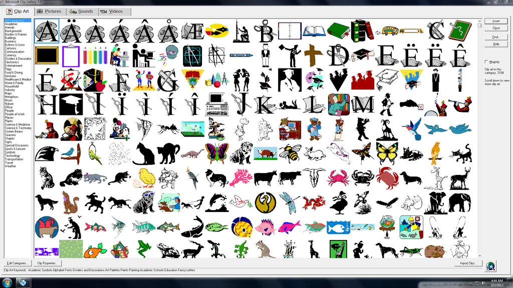 Microsoft kills Clip Art image .