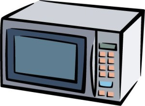 microwave clipart