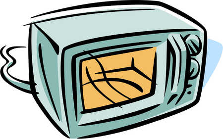 Microwave clipart free clipart image 2 image