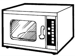 Microwave clipart graphics free clipart image image