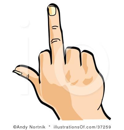 Middle Finger Clip Art. Download