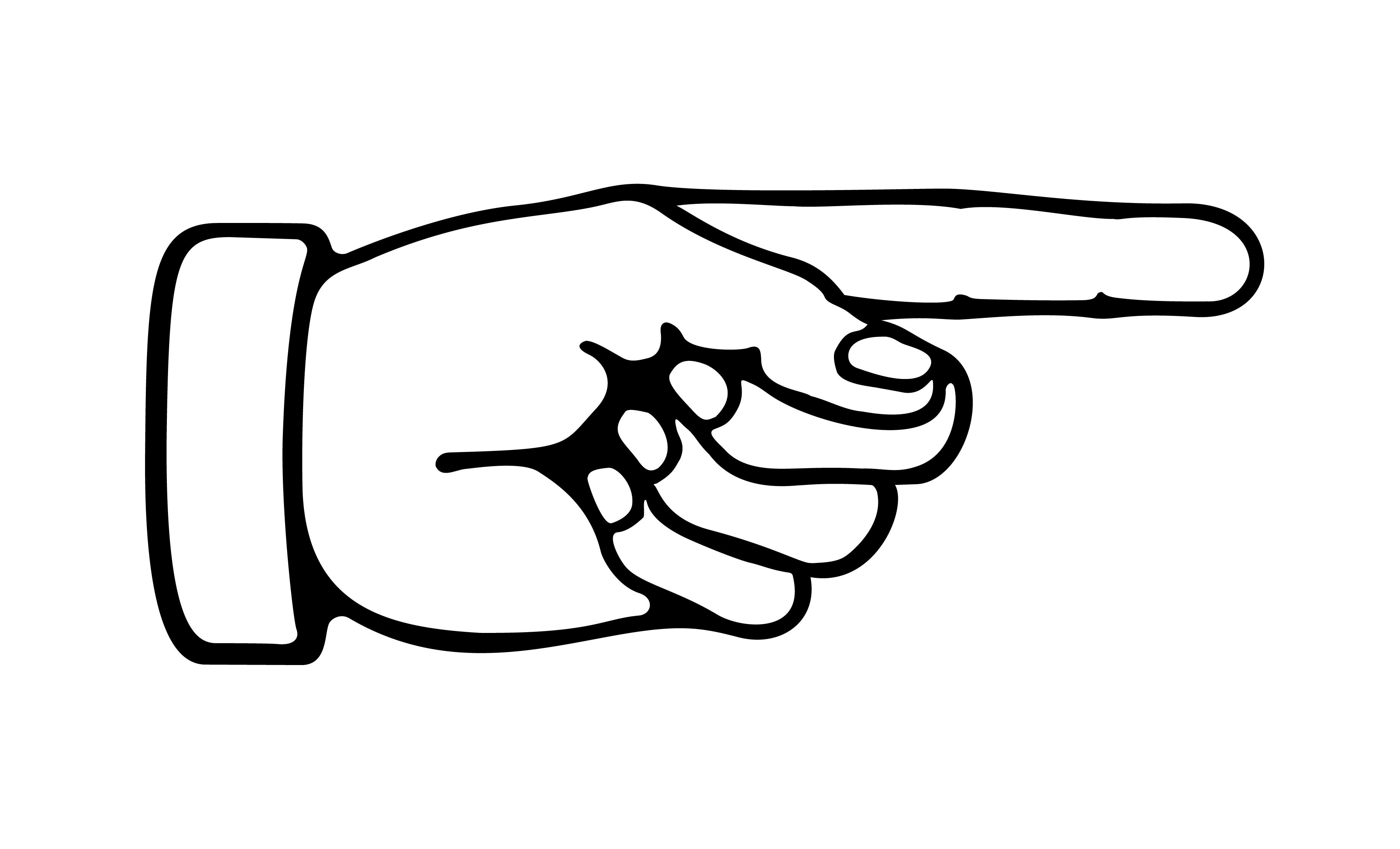Middle Finger Clipart Clipart .