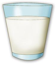 Milk Glass Clipart Digital .