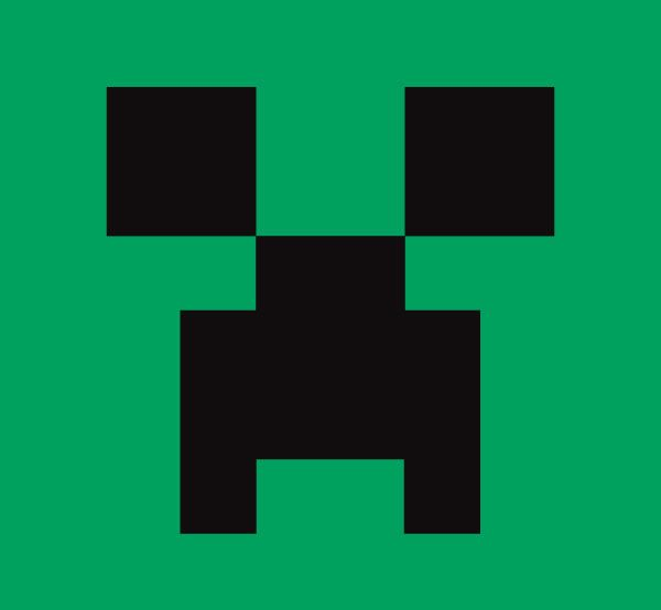 Free download Minecraft Wolf Face Clipart for your creation.
