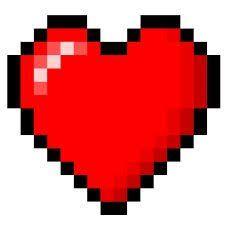 Minecraft Clipart hearts