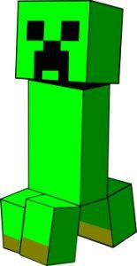 Minecraft Creeper Clipart #1