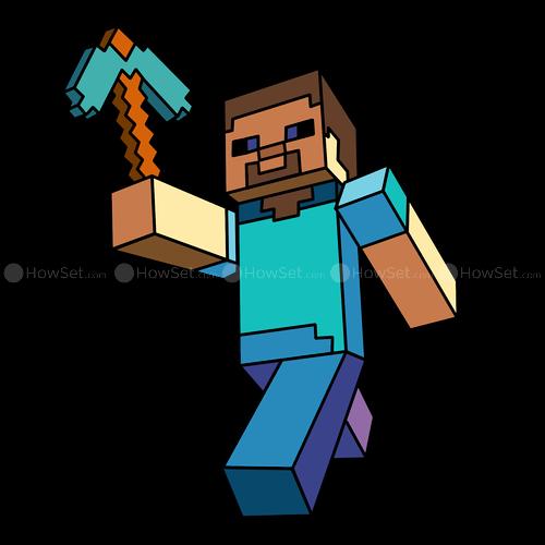 Minecraft Steve Clipart. Steve