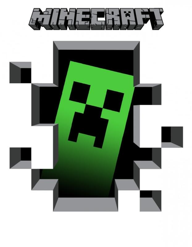 pin minecraft clipart images #2