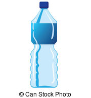 ... Mineral Water Bottle - Vector illustration of mineral water... Mineral Water Bottle Clip Art ...