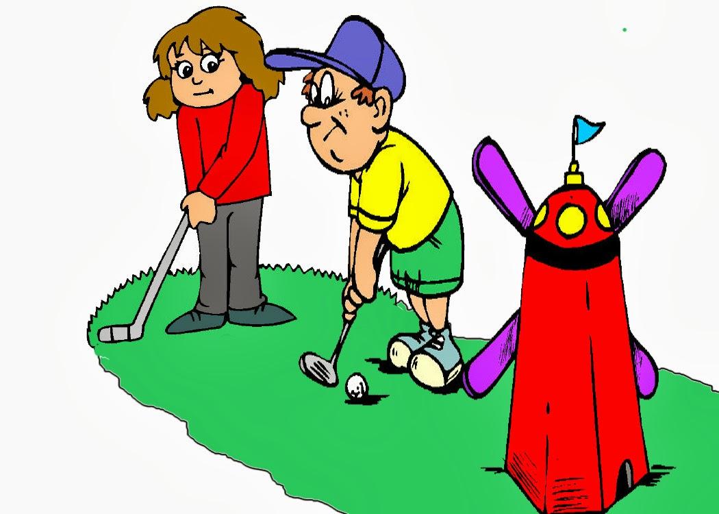 mini golf clipart 6