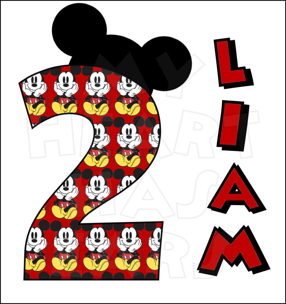 Minnie Mouse Birthday Clip Art Mickey Mouse Birthday