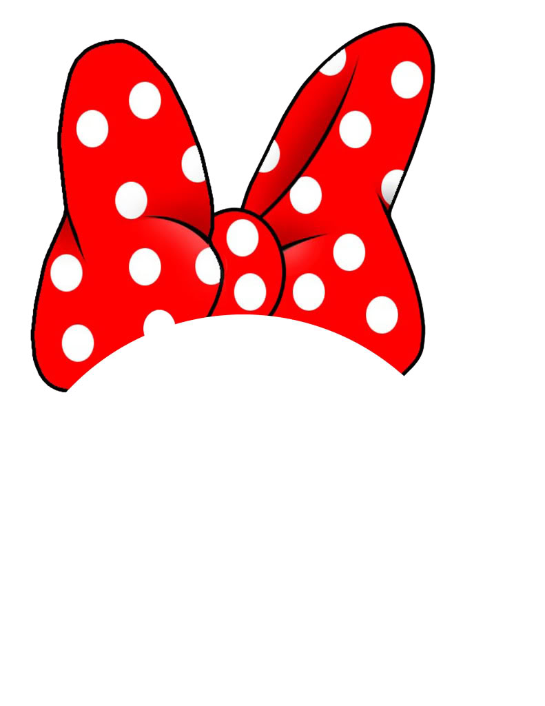 Minnie mouse bow clip art fre - Minnie Mouse Bow Clipart