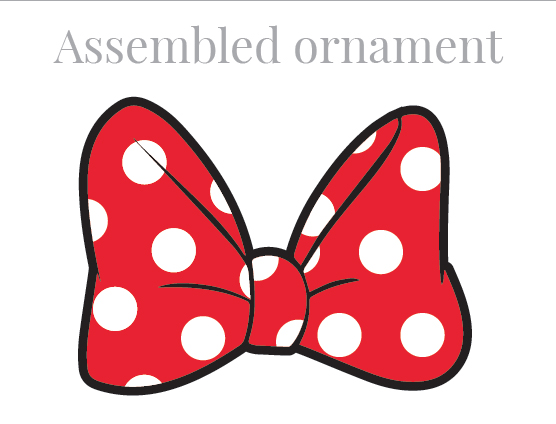 Ribbon clipart minnie mouse #