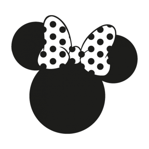 Minnie Mouse Disney Logo Vector Ai Free Graphics Download