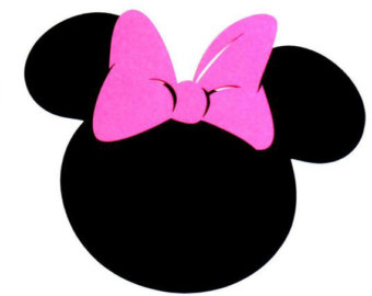 minnie mouse head .