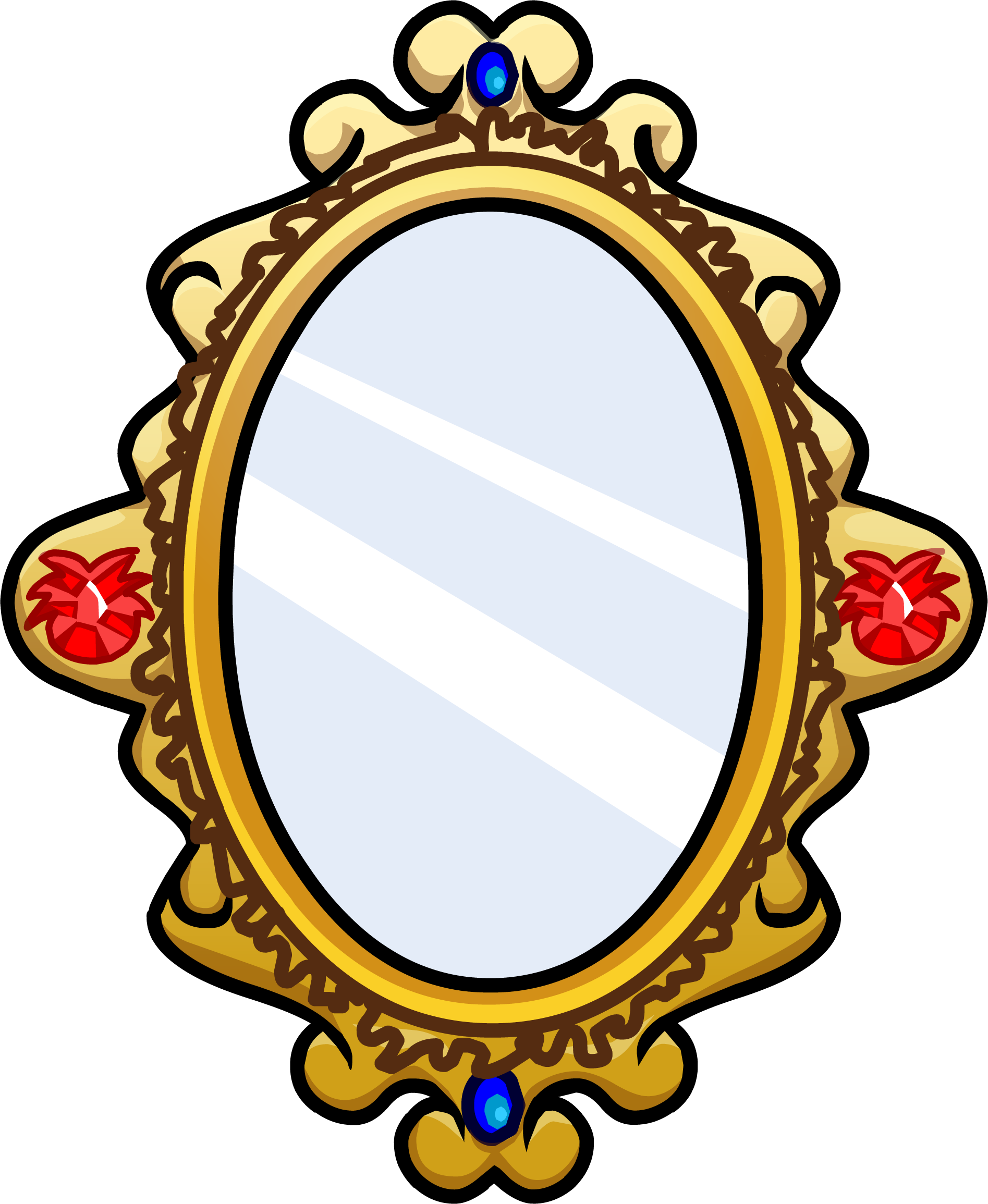 Mirror clipart transparent #13