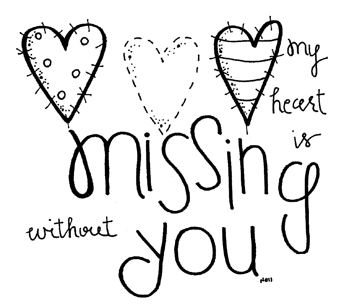 missing you :(