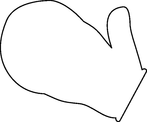 Mitten clip art at vector cli - Mitten Clipart
