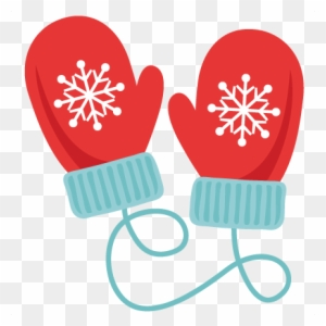 Winter Mittens Svg Scrapbook Cut File Cute Clipart - Christmas Mittens  Clipart