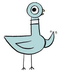 Mo Willems Pigeon Clipart
