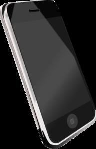 Modern Cell Phone Clip Art