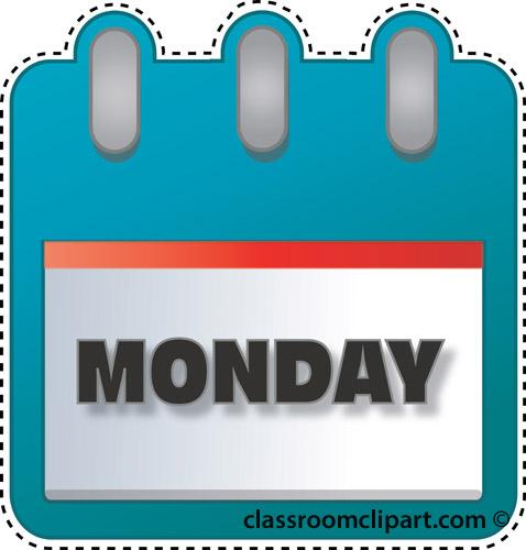 Monday Clipart