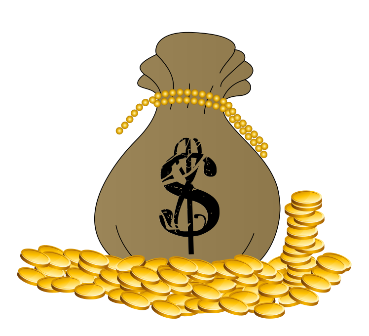 Money Bag Clip Art Images Free For Commercial Use