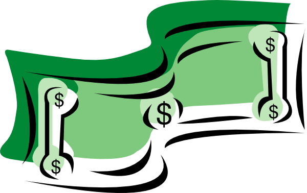 free vector Stylized Dollar Bill Money clip art ClipartLook.com