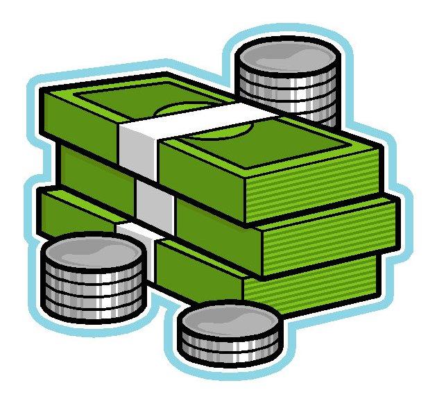 Money Coin Cash Clipart